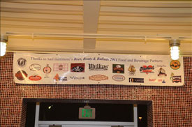 2011 Beer, Boats and Ballads Sponsors Banner